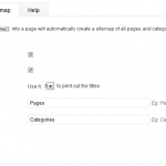 The sitemap tab